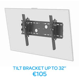 LED TV Mounting Tilt Brackets Dublin